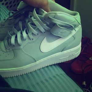 Grey & White Airforces1s